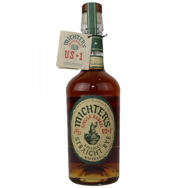 Michter's 1753 Single Barrel Straight Rye Whiskey