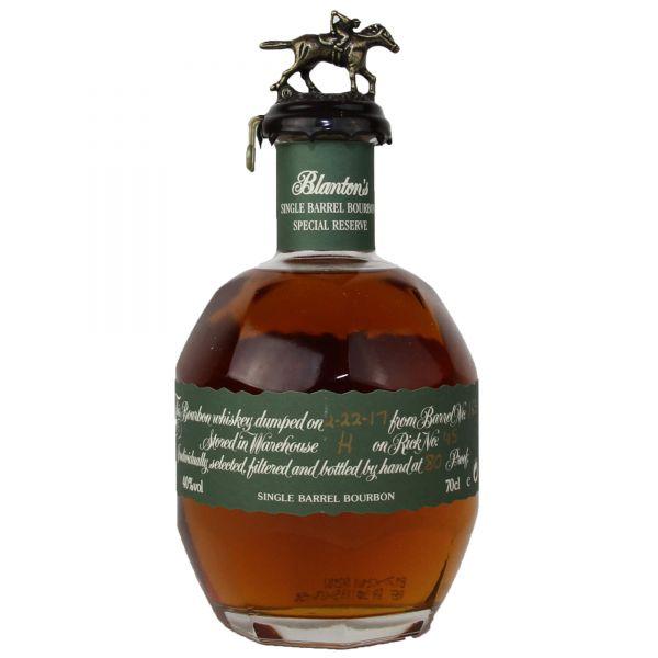 Blanton's Special Reserve Single Barrel Bourbon