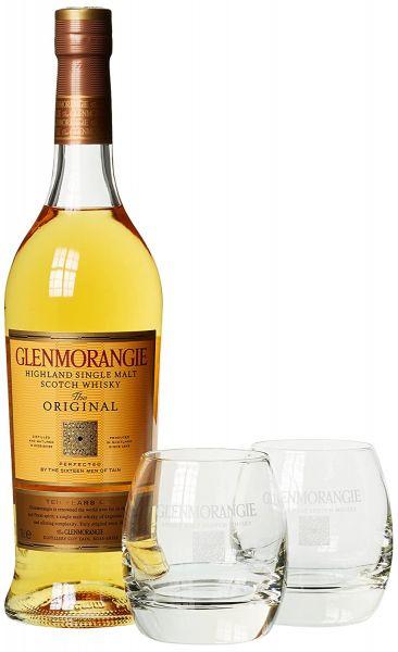 Glenmorangie The Original 10Y + 2 Tumbler