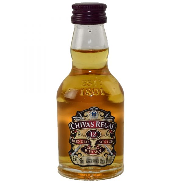 Chivas Regal 12 Years Mini 12 x