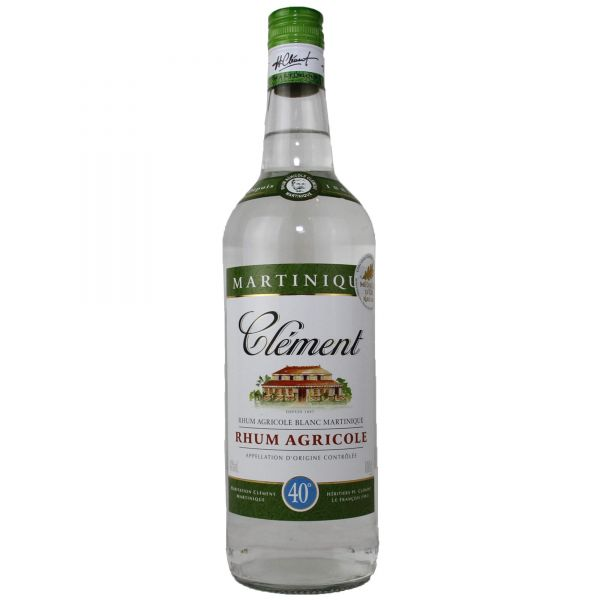 Clement Rhum Agricole blanc AOC