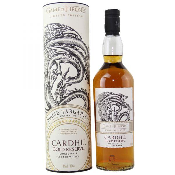 Cardhu Gold Reserve House Targaryen - Game of Thrones Single Malt