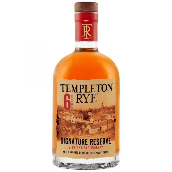 Templeton Rye 6Y Whiskey