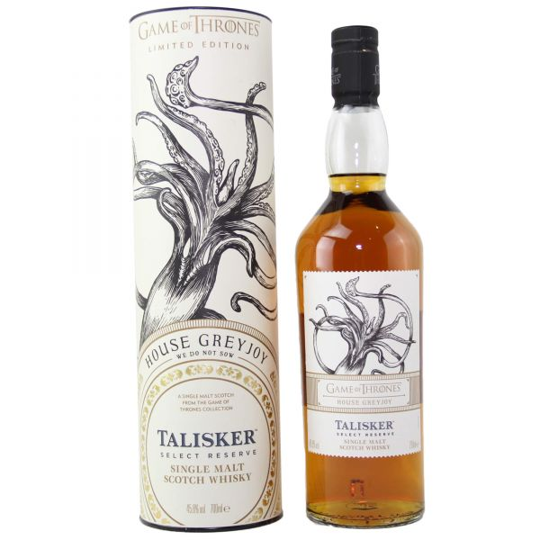 Talisker Select Reserve Game of Thrones House Grey Joy