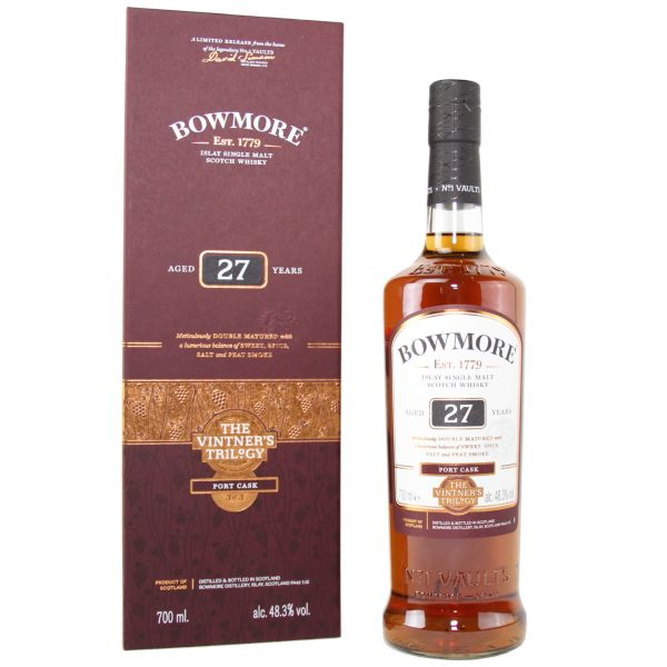 Bowmore 27 Years The Vintner's Triology