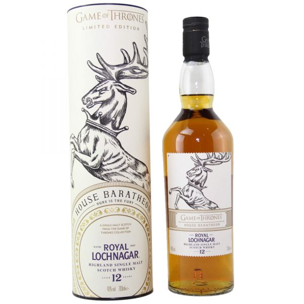 Royal Lochnagar 12 Year Old House Baratheon - Game of Thrones Single Malts