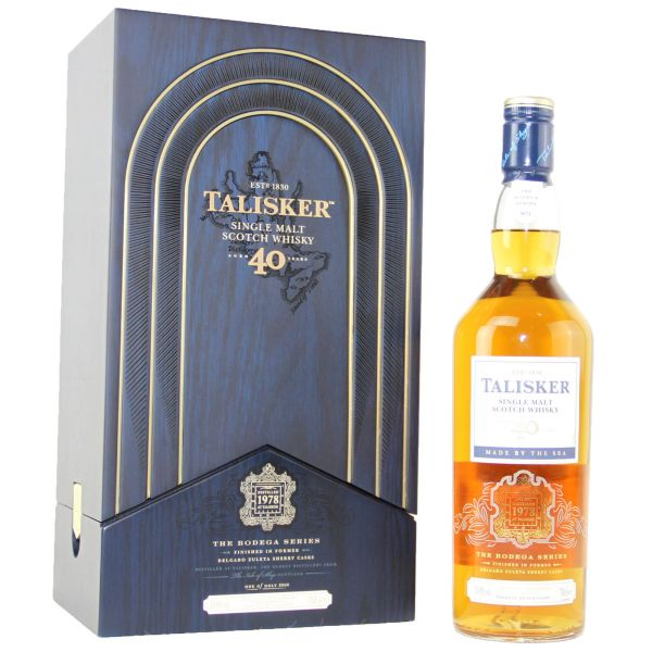 Talisker 40 Years Bodega Series