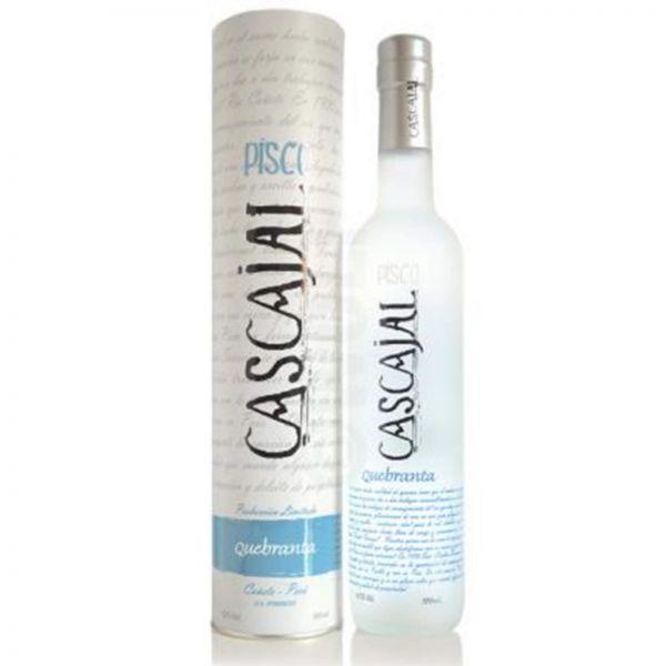 """Pisco Cascajal Premium """"Puro Quebranta"""""""