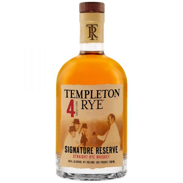 Templeton Rye 4Y Whiskey