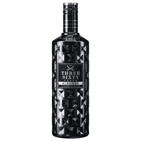 Three Sixty Vodka Black 42