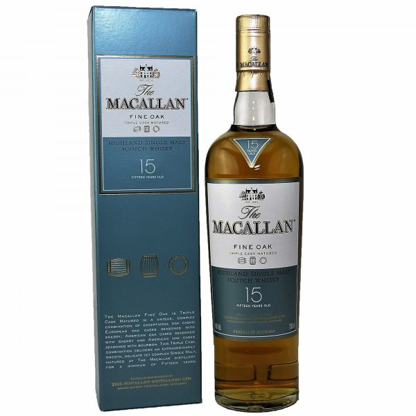 The Macallan Fine Oak 15 Years