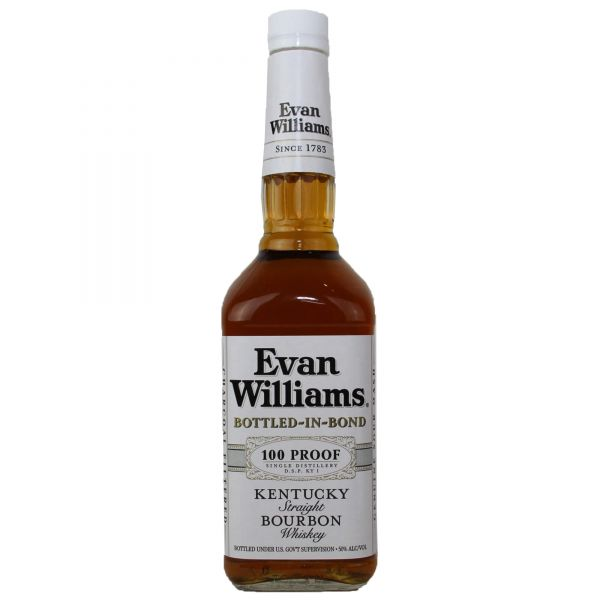 Evan Williams Kentucky Straight Bourbon Bottled-in-Bond Whiskey
