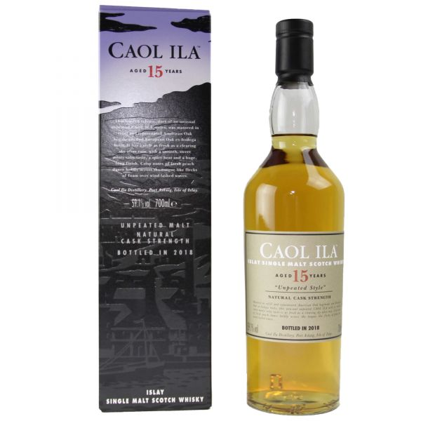 Caol Ila 15 Jahre Special Release 2018 Unpeated Style