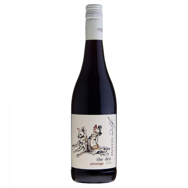PAINTED WOLF The Den Pinotage 2015