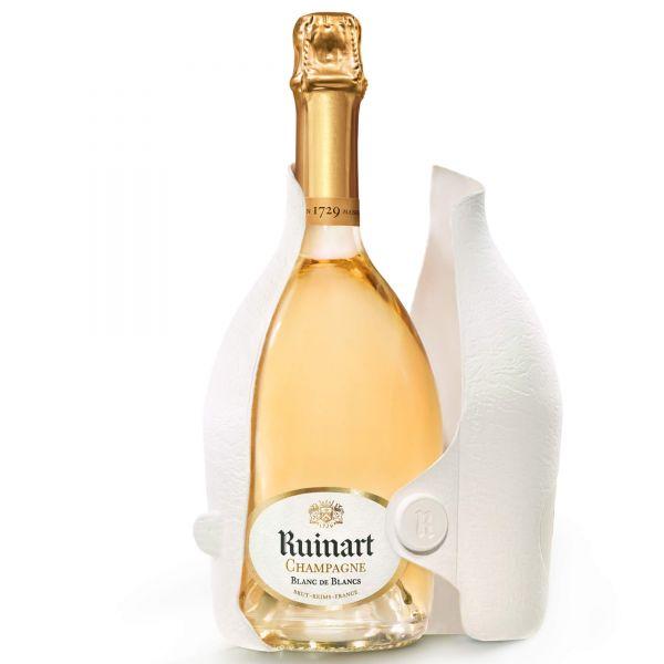 Ruinart Champagner Blanc de Blanc Second Skin Verpackung