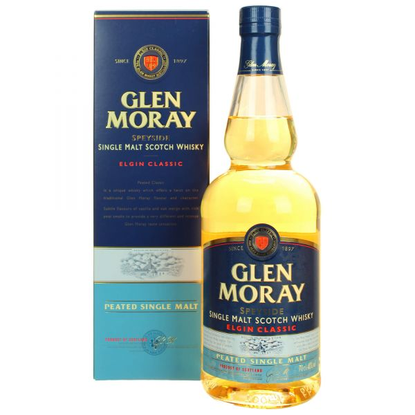 Glen Moray Peated Malt Scotch Whisky