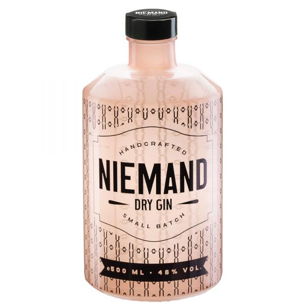 Niemand Dry Gin Small Batch + Gratis Bottle Drink -