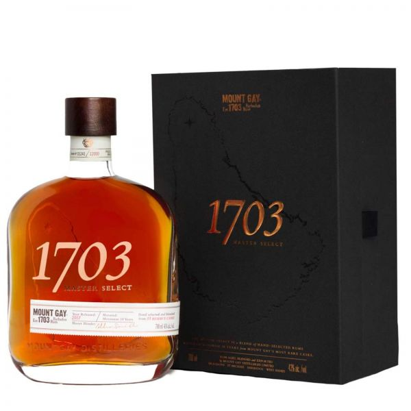 """Mount Gay 1703 """"Master Select Release 2020"""""""