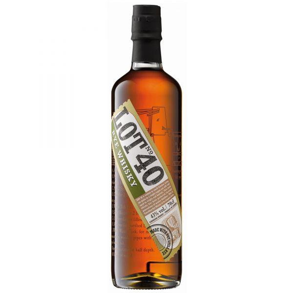 LOT 40 Canadian Rye Whisky