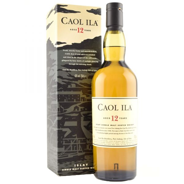 Caol Ila 12 Years Old Islay Scotch Single Malt