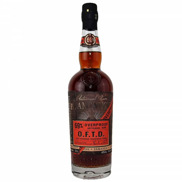 Plantation Rum O.F.T.D. Overproof