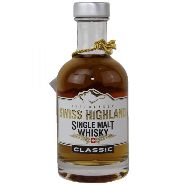 Swiss Highland Single Malt Whisky Classic