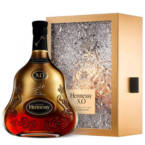 Hennessy X.O Limited Edition BY FRANK GEHRY