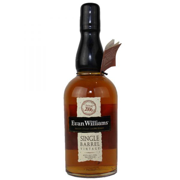 Evan Williams Kentucky Straight Bourbon Single Barrel Whiskey