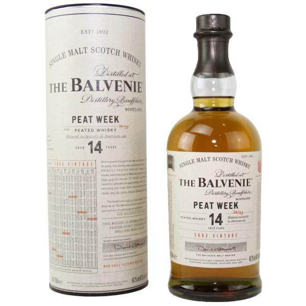 Balvenie 14 Years Peat Week Vintage 2003 Single Malt Scotch Whisky