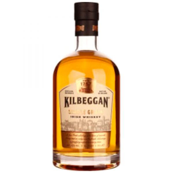 Kilbeggan Single Grain Irish Single Grain Whiskey