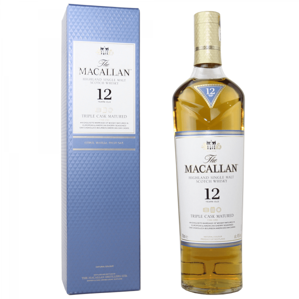 The Macallan 12 Jahre Triple Cask