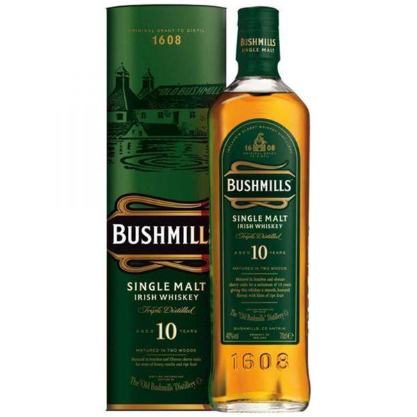 Bushmills Malt 10 Years Old Irish Whiskey in GP