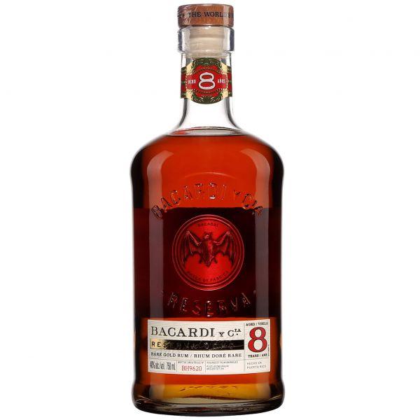 Bacardi 8 Jahre Reserva Ocho Rum
