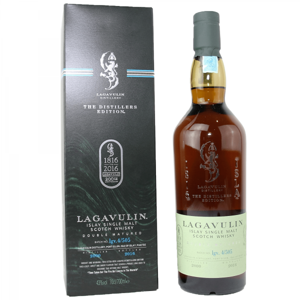 Lagavulin Distillers Edition 2000 Bottled 2016
