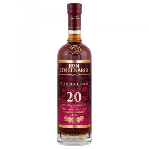 Centenario Rum 20 Fundación