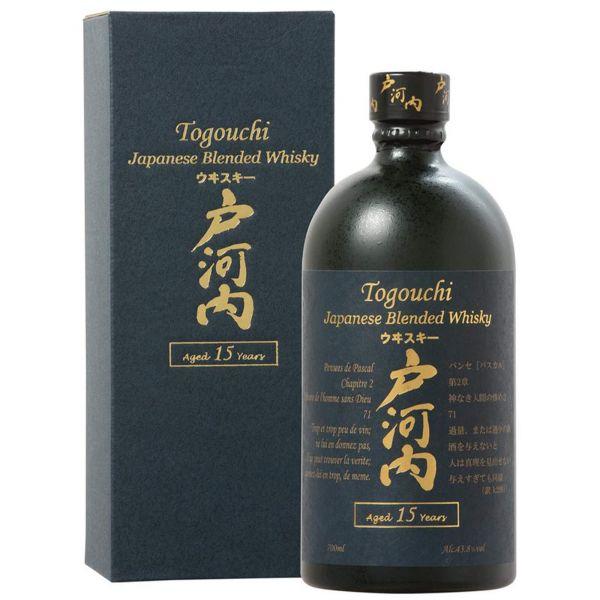 Togouchi 15 Years Japanese Blended Whisky