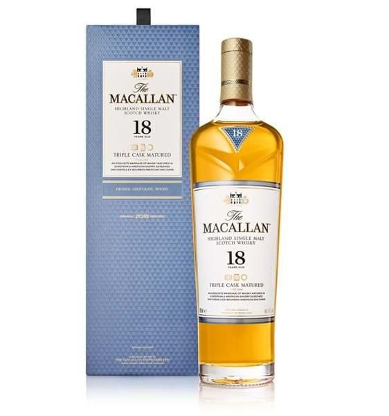 The Macallan 18 Jahre Triple Cask