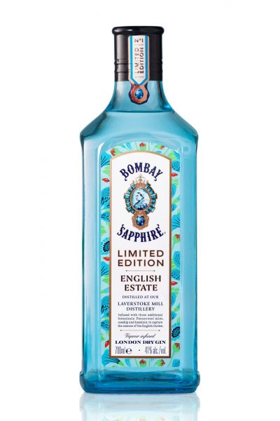 Bombay Sapphire Gin Limited Edition English Estate