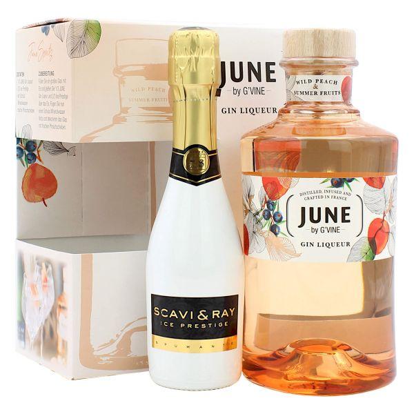 June Gin Liqueur + Scavi & Ray Piccolo Set