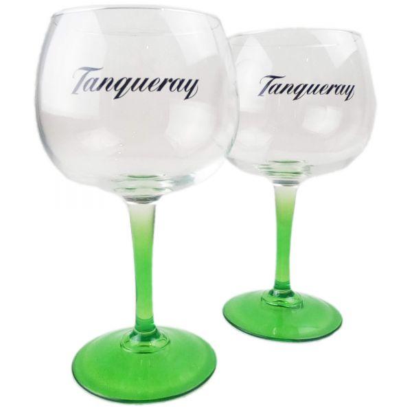 2x Tanqueray Gin Ballon Gläser