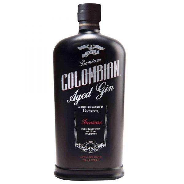"Dictador Premium Colombian Gin ""Treasure"""