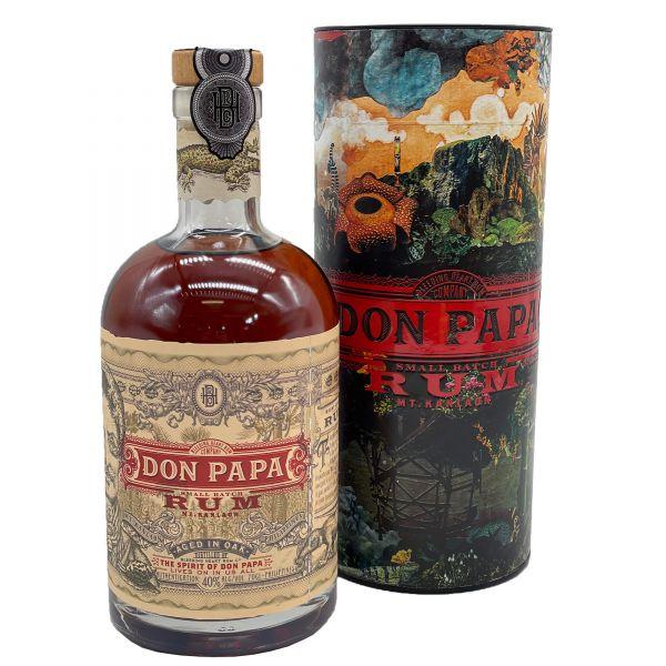 Don Papa Rum in Geschenkverpackung