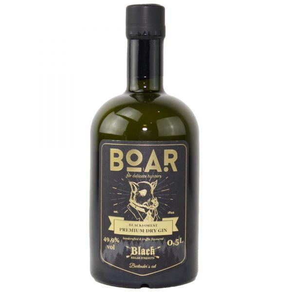 Boar Black Forest Premium Dry Gin Black Keiler Strength