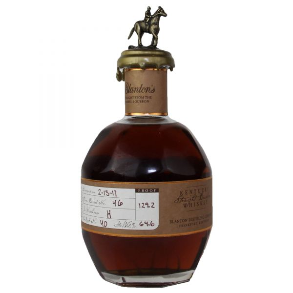 Blanton's Straight from the Barrel Single Barrel Bourbon