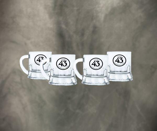 Licor 43 Minibeer Glas 3cl 4er Pack