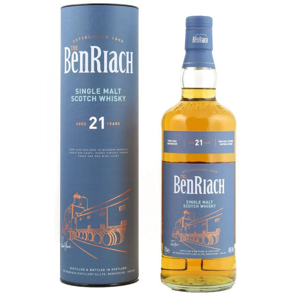 BenRiach 21 Years Old Speyside Single Malt