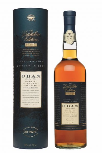 Oban Distilled 2003 Bottled 2017 Distillers Edition
